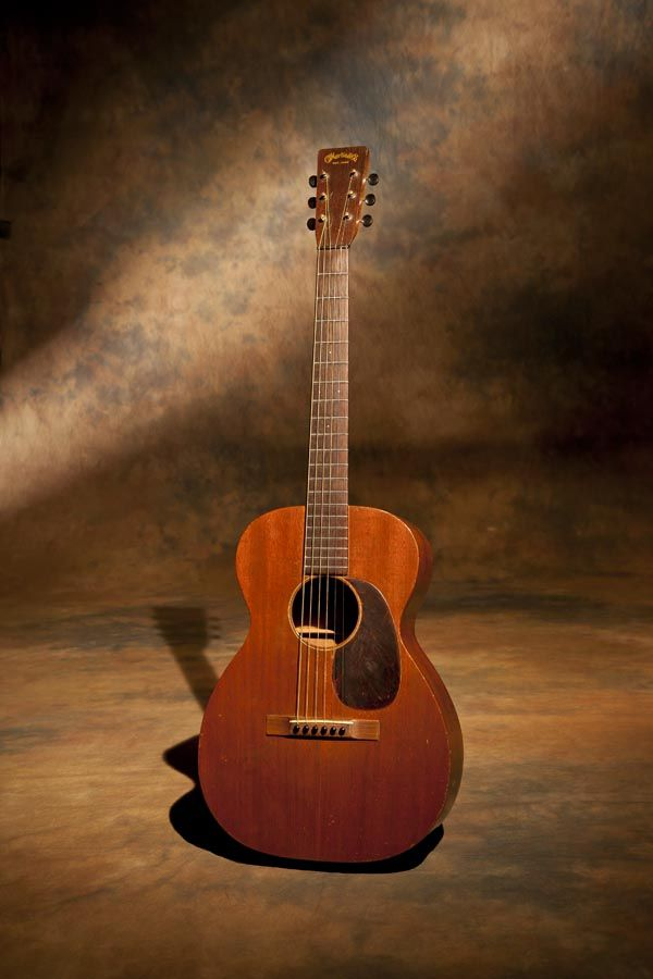 """A 1932 Martin 0-17 mahogany guitar that bellows like it's 3 times its size. This particular guitar was the star of the recent acoustic tour and Vienna Opera House show and film shoot. It's a fantastic guitar that inspired and helped me write the song """"Dislocated Boy""""."""