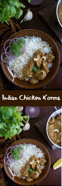 Indian Chicken Korma Video Recipe Chicken Chicken Indian