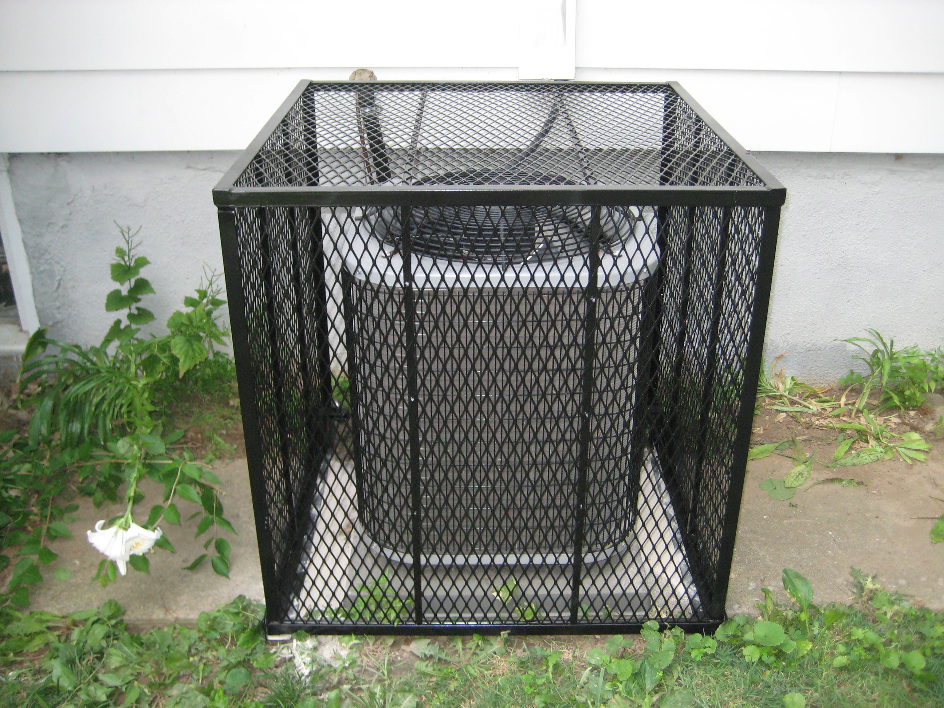 AC Cage Cage, Durable, Trash can