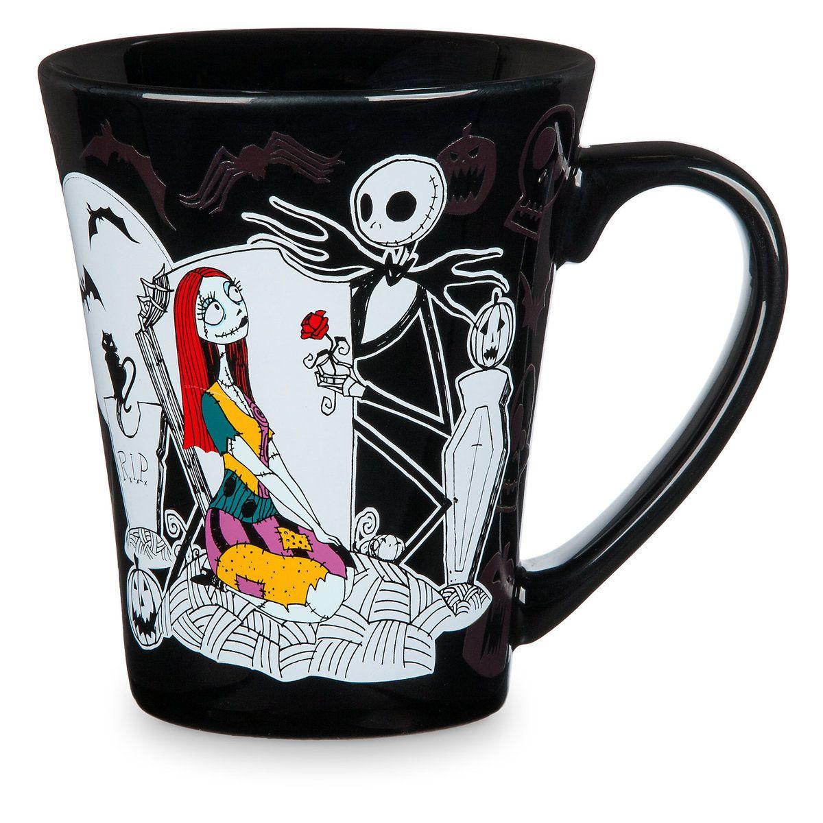 Jack Skellington and Sally Color Changing Mug | Wish List ...