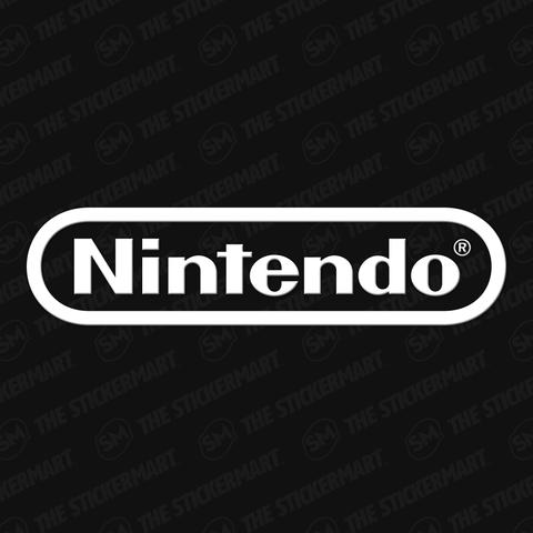 Nintendo Logo Vinyl Decal Nintendo Logo Video Game Logos Nintendo