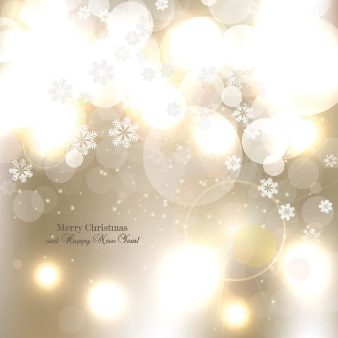 Free Vector Illustration Of Glowing Star Flake Pattern Elegant Merry Christmas And Happy New Year Wallpaper Background Illus Imagenes De Navidad Fondos Navidad