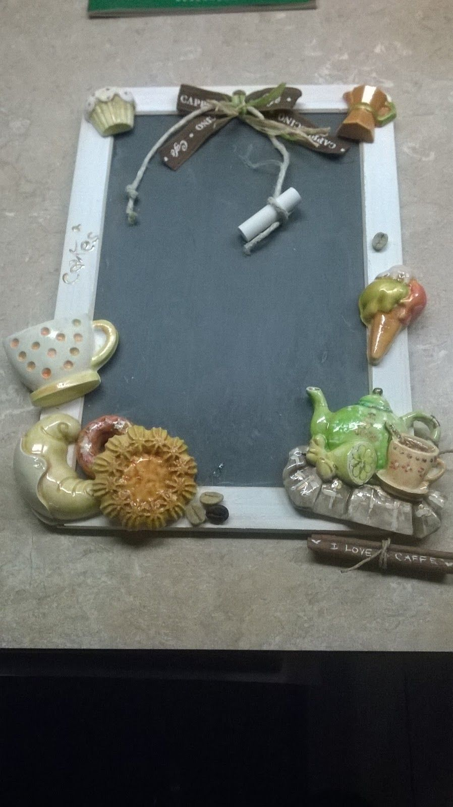 lavagna per cucina dipinta a mano | Lavagna | Pinterest | Porto