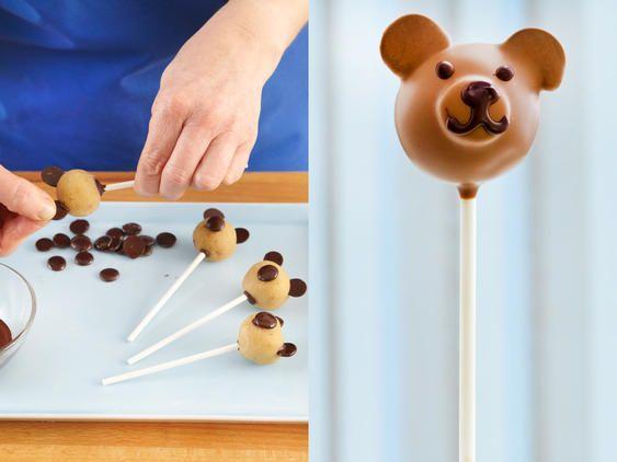 Cake Pops Grundrezept - so gelingen die Kuchen am Stiel   LECKER