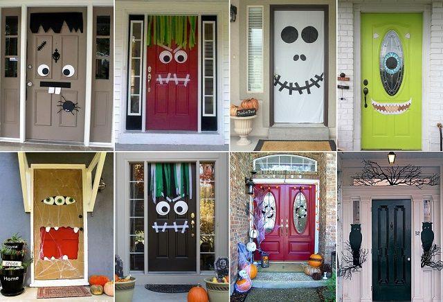 Speciale halloween 10 idee per arredare casa come decorare for Decorare la porta dell aula