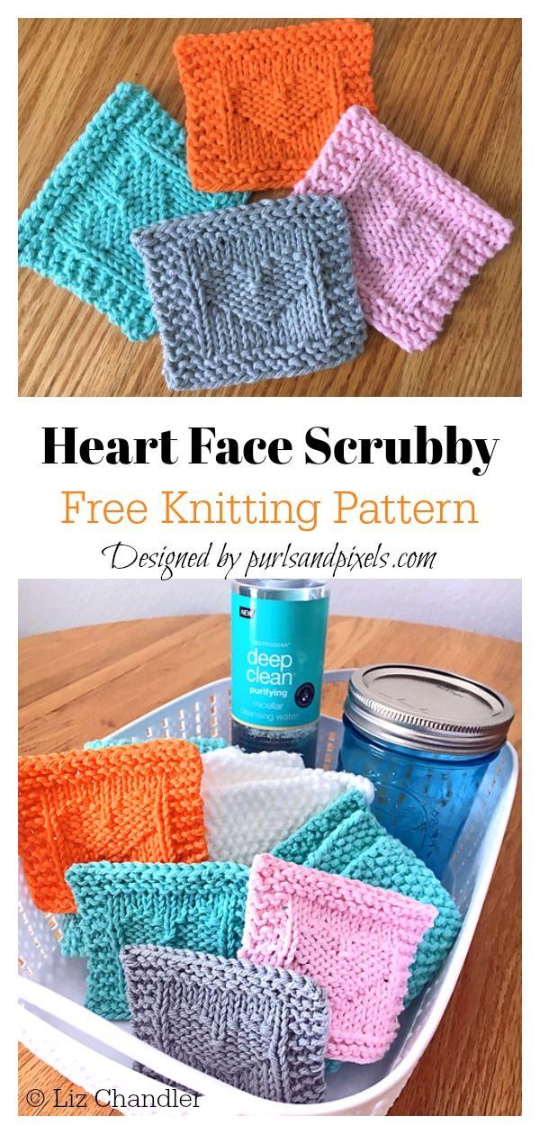 Face Scrubby Free Knitting Pattern Knitting patterns