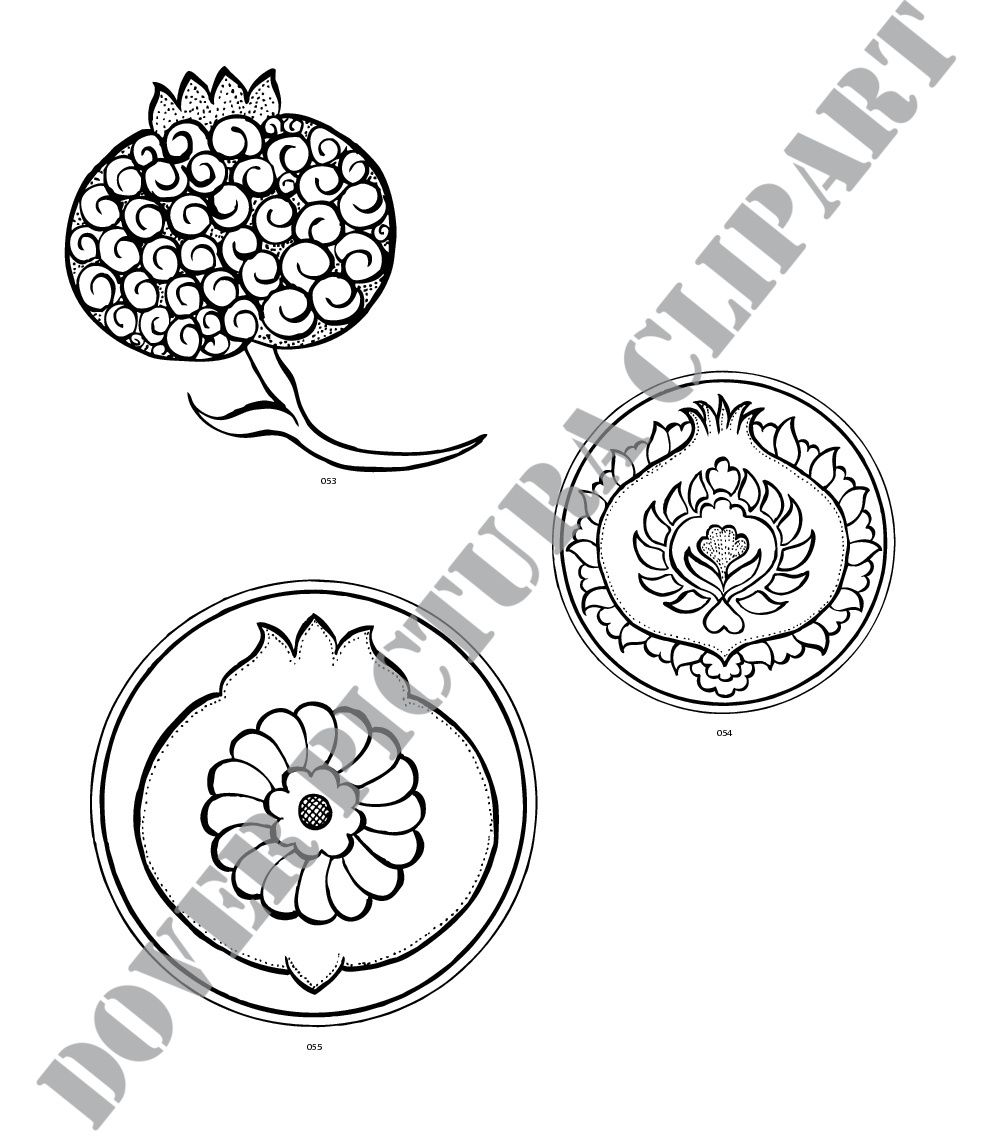 Turkish Vector Motifs | Çini | Pinterest | Símbolos, Números y Letras