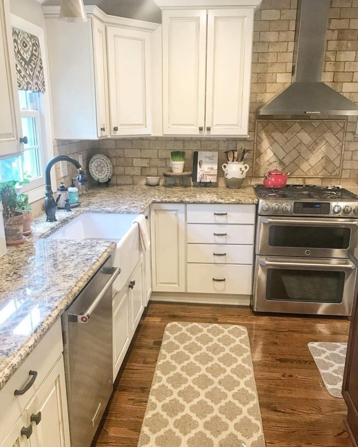 15 Chic Farmhouse Kitchen Design And Decorating Ideas for Fun Cooking #topkitchendesigns