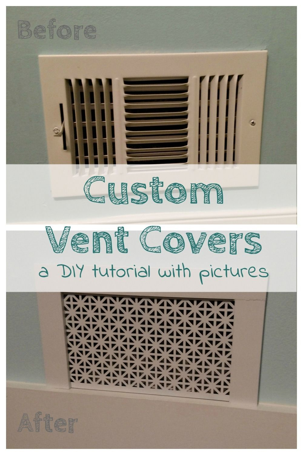 How to Make Custom Air Vent Covers Vent covers, Air vent