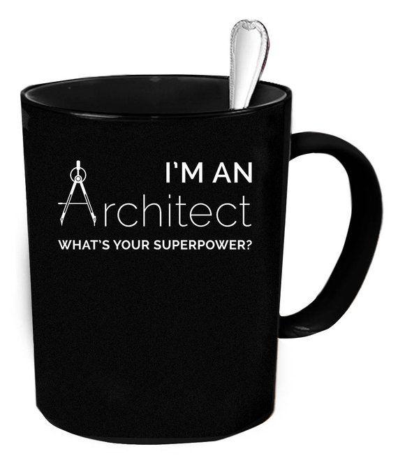 Gift for Architect Graduation Gift Funny Architect Coffee Mug