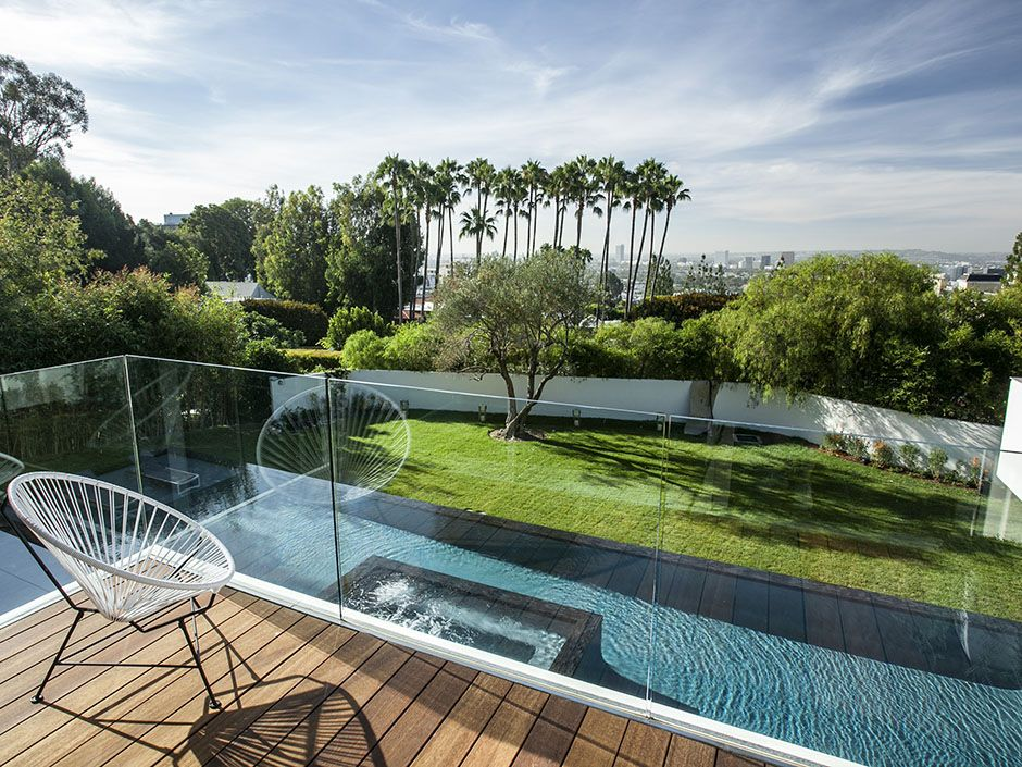 California modern private residence sunset plaza drive los angeles ca hagy