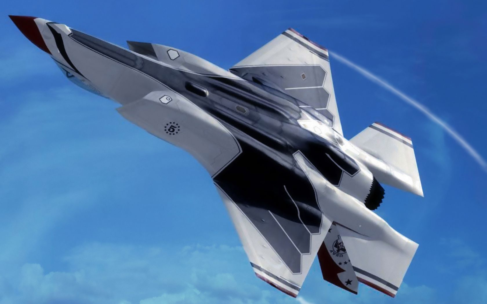 F-35 Lightning II vs F-22 Raptor | 35 Thunderbird (Lockheed Martin F-35 Lightning II) wallpaper