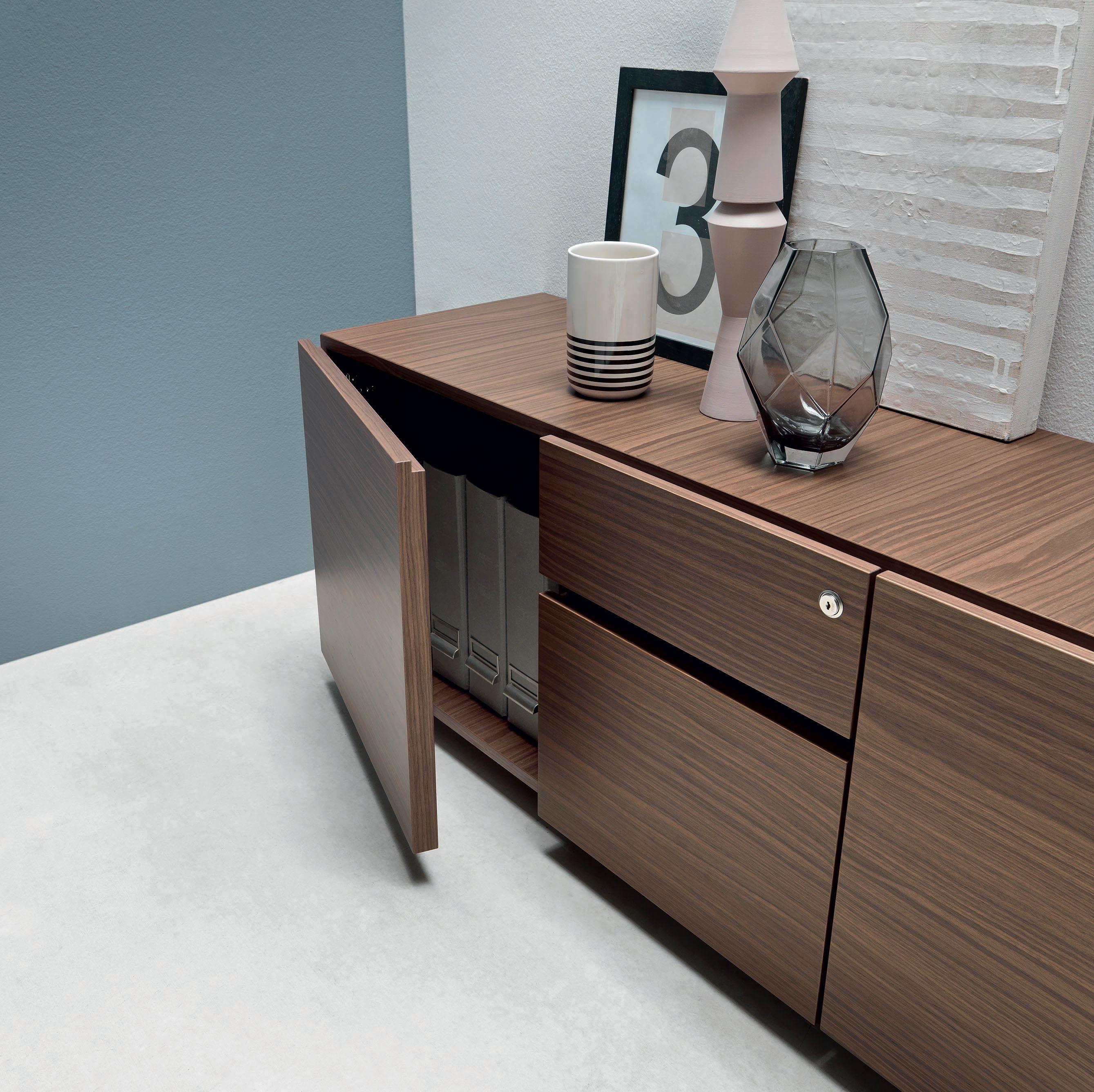 italian office desk. Martex Service Unit - Wood Venereed Walnut By Italian Office Furniture Desk K