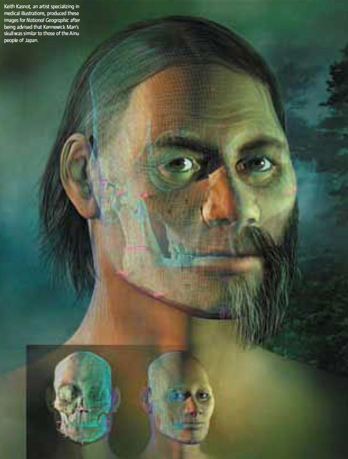 carbon dating kennewick man