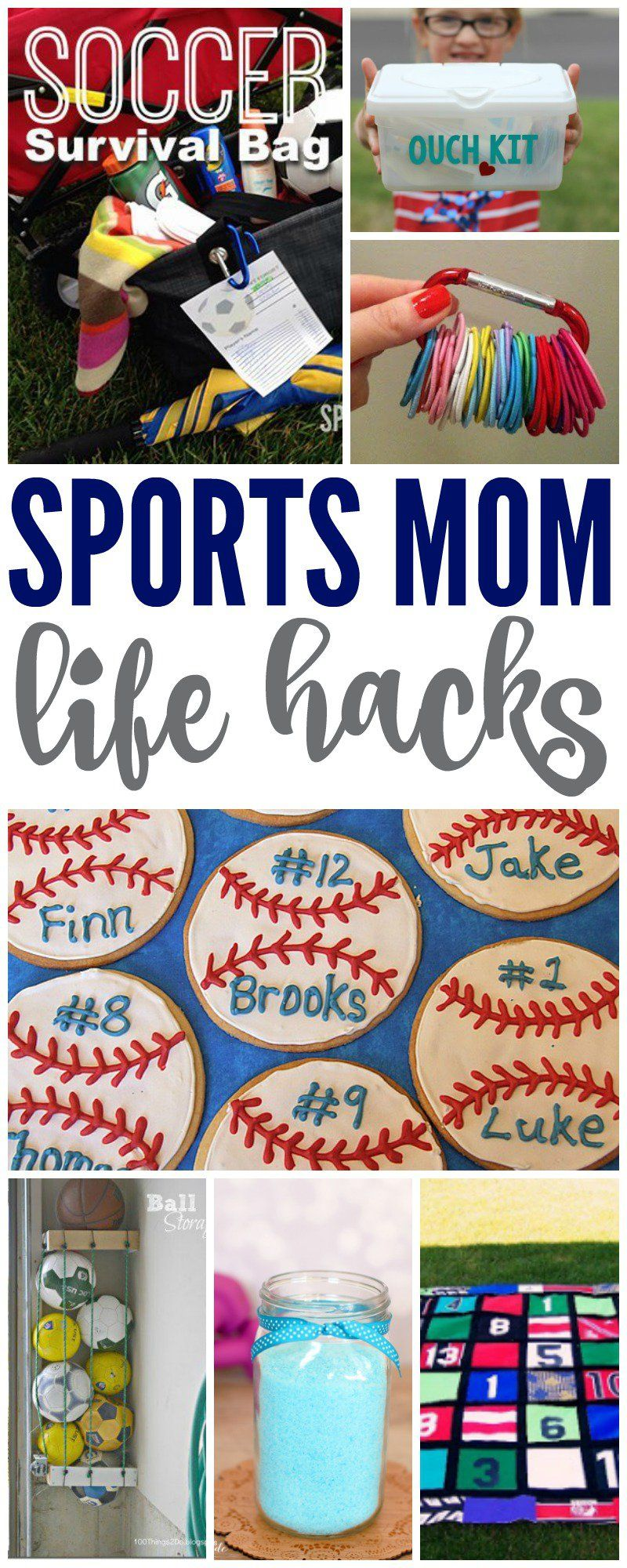 Life Hacks For Moms I Have Some Awesome Genius Hacks For Sports Moms Today If Youre