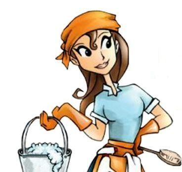 Free Clip Art Cleaning Lady Nancy Devine Places To