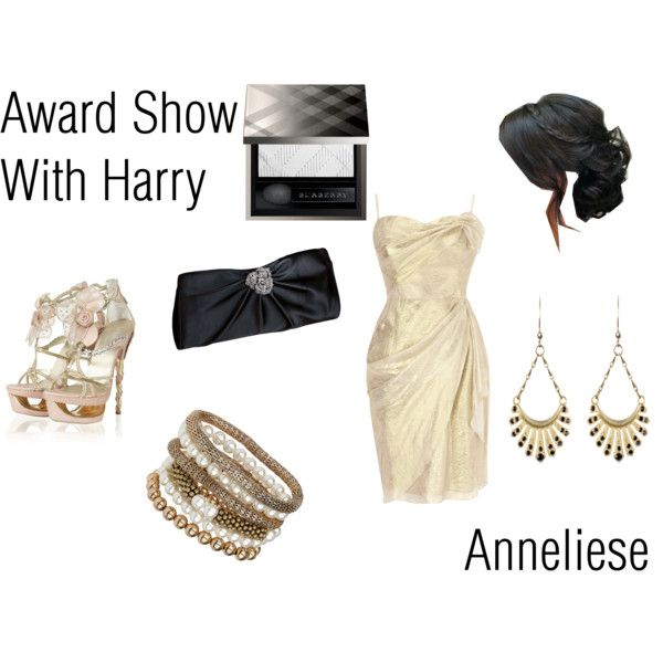 """Anneliese: Award Show With Harry"" by ashxzx on Polyvore"