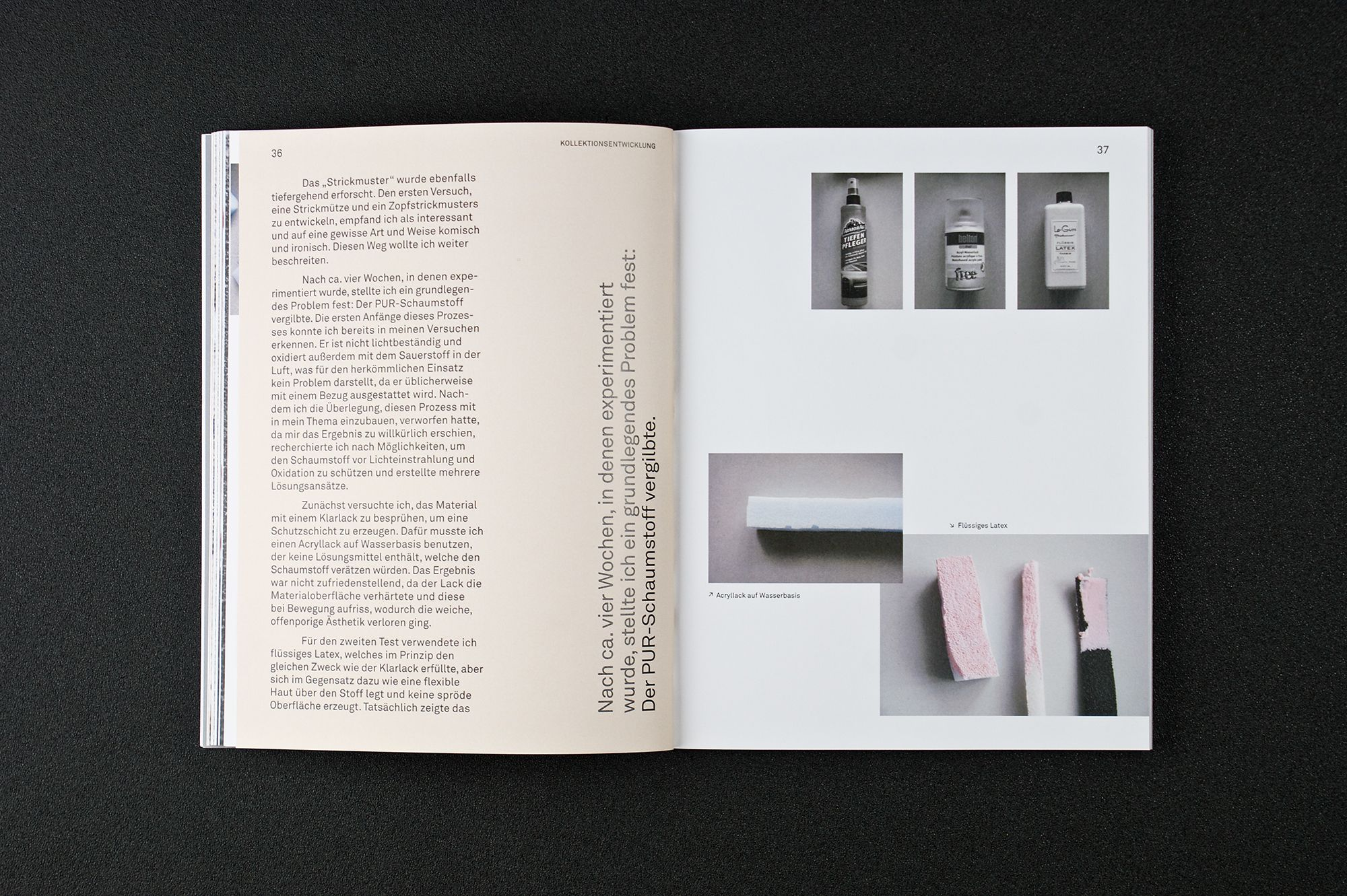 Foam Sweet Foam On Behance Mise En Page Layout Bts Design Graphique