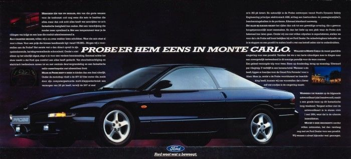 Cars Of Futures Past Ford Probe Avec Images
