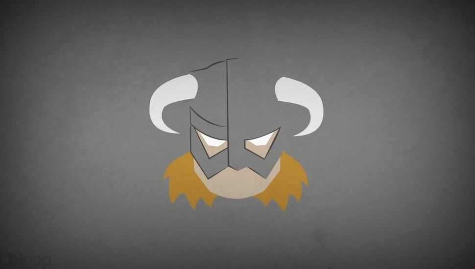 Blo0p Minimalism Dovahkiin Skyrim The Elder Scrolls V Skyrim Desktop Background Skyrim Wallpaper Superhero Wallpaper Elder Scrolls V Skyrim
