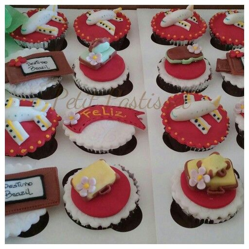 Traveling cupcakes