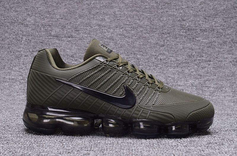 371b03a02be Men s Nike Vapormax KPU TPU Running Shoes Army Green Black 677293-303 UK  Trainers