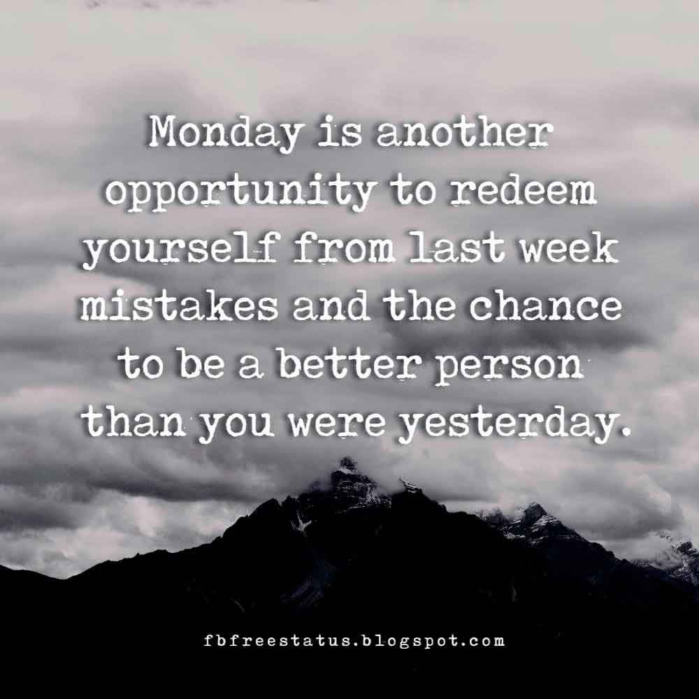 Funny & Inspirational Monday Quotes to Make Your Day