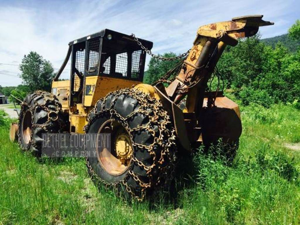 Tree farmer skidder for sale in ny - 1992 Caterpillar 518 Cable Skidder