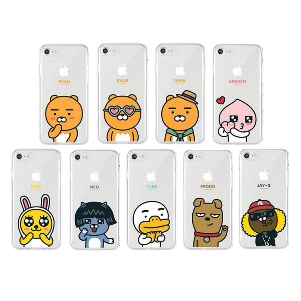 923228a0e KAKAO FRIENDS New UV Soft Jelly Case Cover Protector For LG G5 / V20 # KAKAOFRIENDS