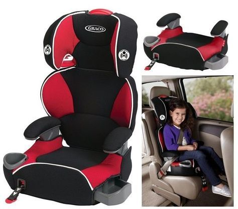 Kids Car Seat Red Baby Toddler Safety Adjustable Convertibe Booster ...