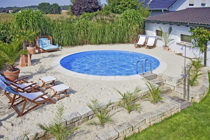 Pool Gunstig Bauen Haus Und Garten Garten Pool Im Garten Und
