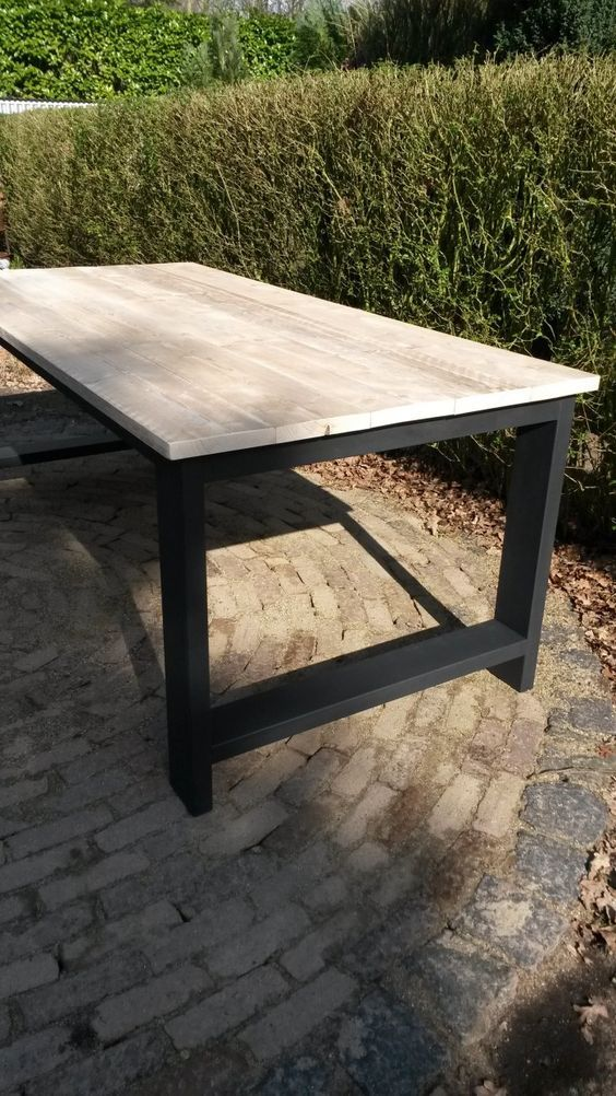 Mesas de para terraza peque a muebles de for Mobiliario de jardin barato online