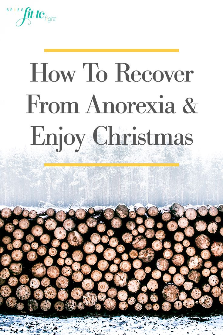 Anorexia at christmas