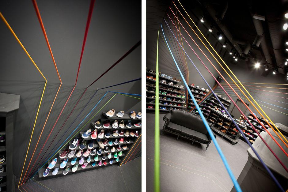 Run Colors Store by Modelina Architekci   Inspirationist