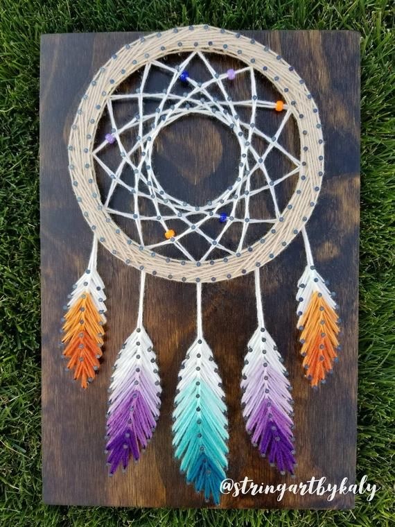 Dreamcatcher String Art