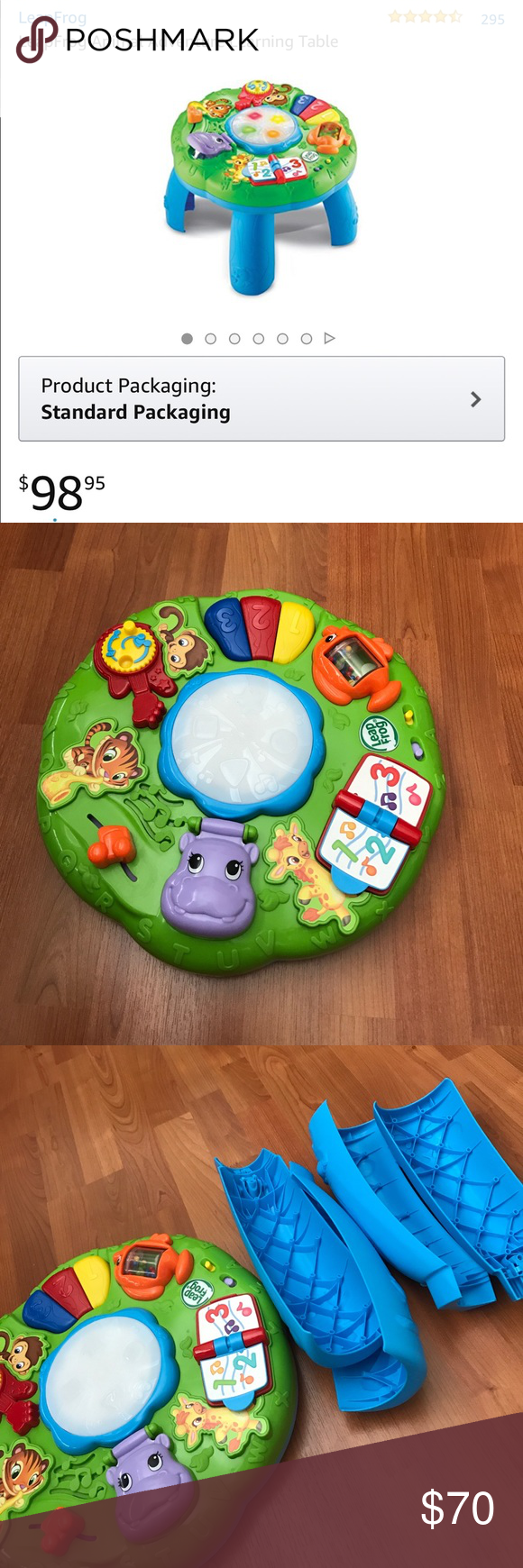 Leapfrog Animal Adventure Learning Table Barely Used Perfect