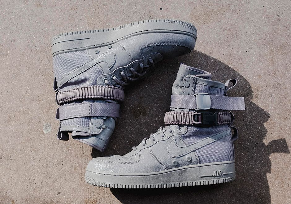 Nike SF-AF1 Grey Detailed Photos