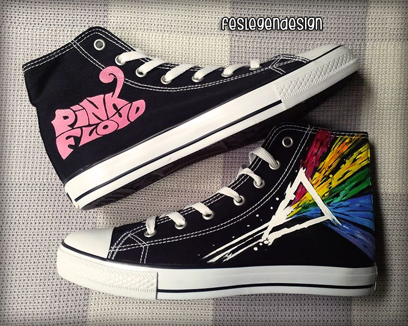 Converse All Star Low Custom Pink Floyd