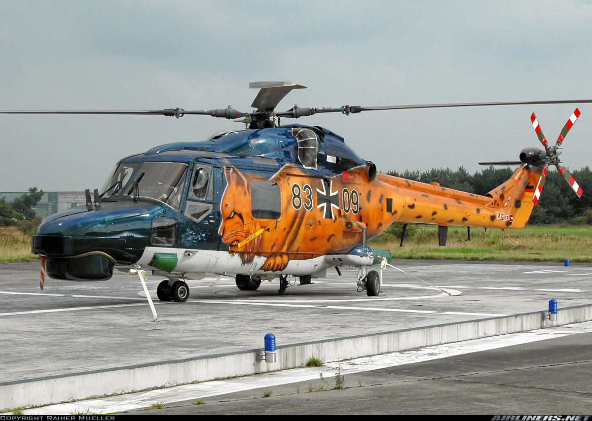 WG13 Super Lynx Mk88A (Германия) Helicopter, Aircraft, Heli