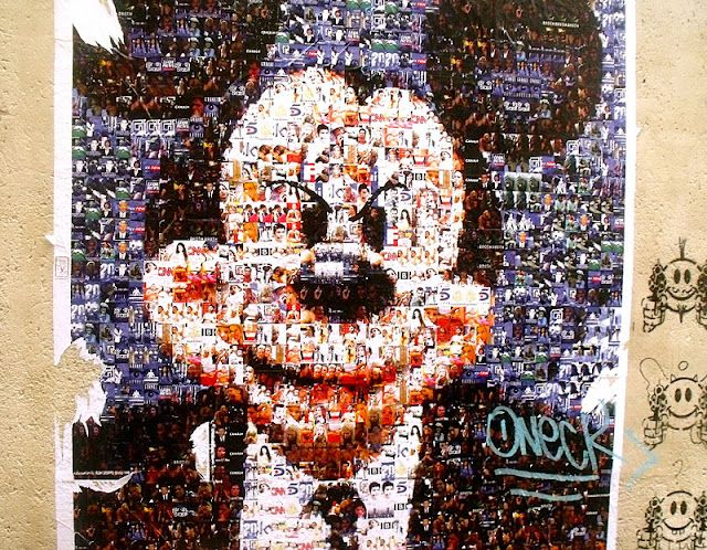 naughty Mickey Mouse artwork