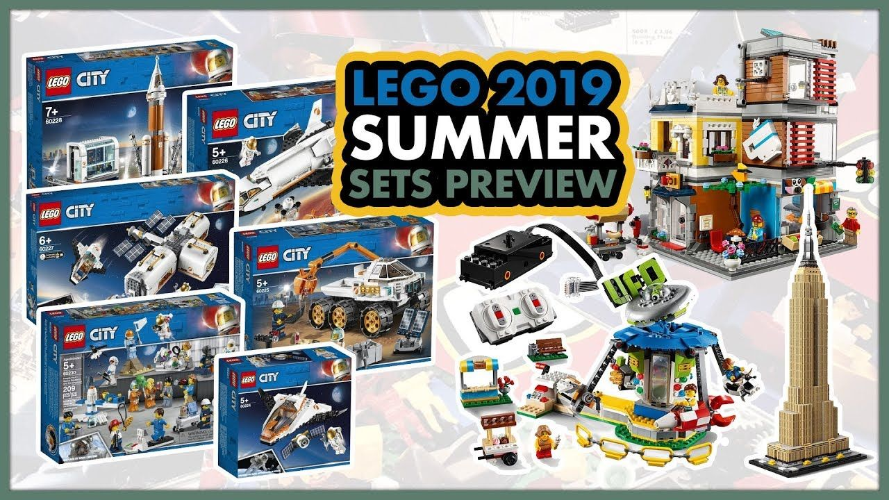 Lego Summer 2019 Sets Preview Returning To Space Lego City Space Lego Space Sets Lego Space