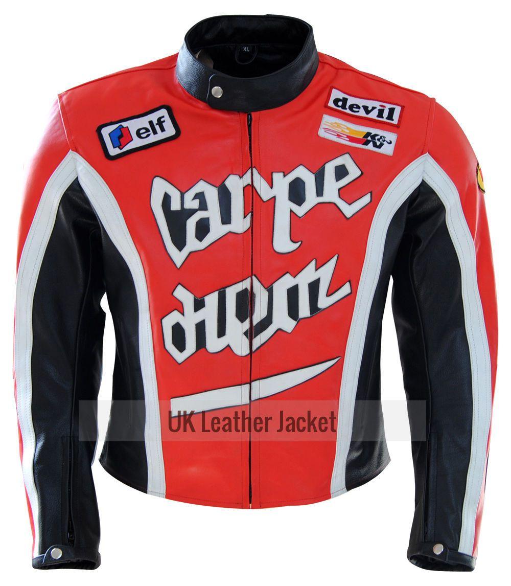 Carpe Diem Martin Henderson S Torque Movie Biker Mens Leather Jacket Cool Jackets For Men Jackets Men Fashion Leather Jacket Men [ 1146 x 1000 Pixel ]