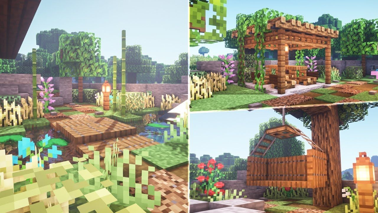 Minecraft: How to Transform your Garden - YouTube in 2020 ... on Backyard Ideas For Minecraft id=27317