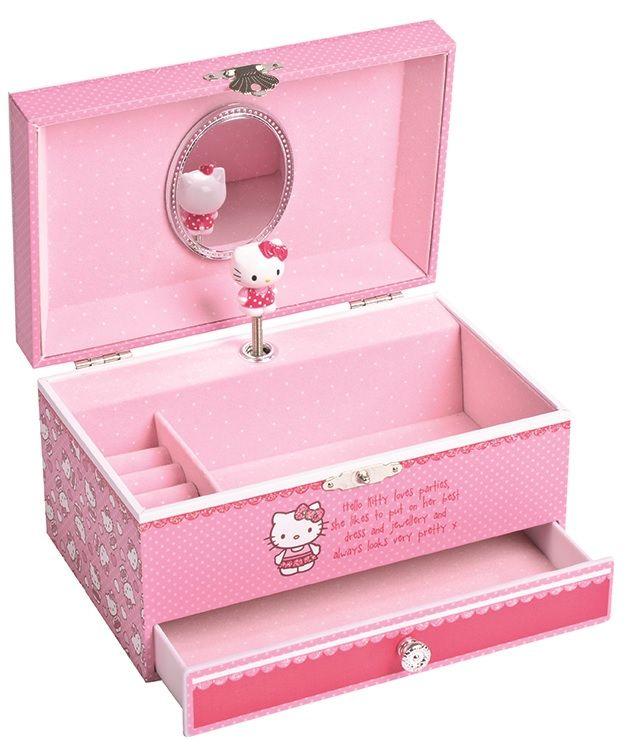 1ec207bfa Hello Kitty Large Musical Jewellery Box | eBay | Music boxes ...