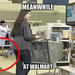 Meanwhile At Walmart | Funny | Walmart funny, Walmart jokes