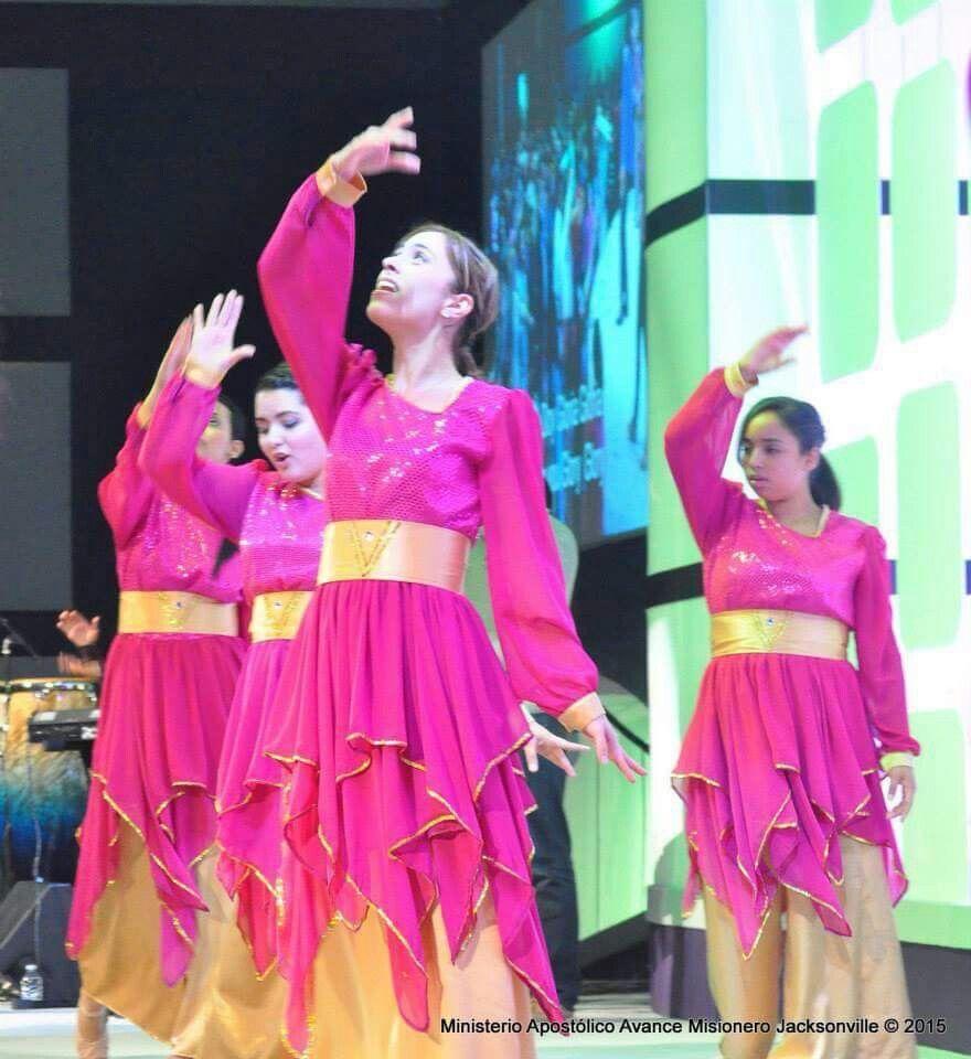 Vestuarios de danza cristiana | Panderistas | Pinterest | Vestuarios ...