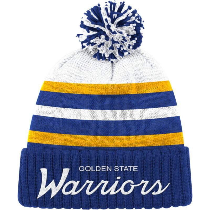 e41afaaa Mitchell & Ness Men's Golden State Warriors Cuffed Knit Hat, Team ...