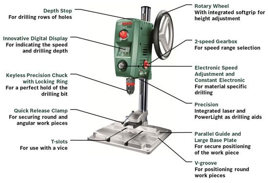 Bosch Uk Drill Press Pbd 40
