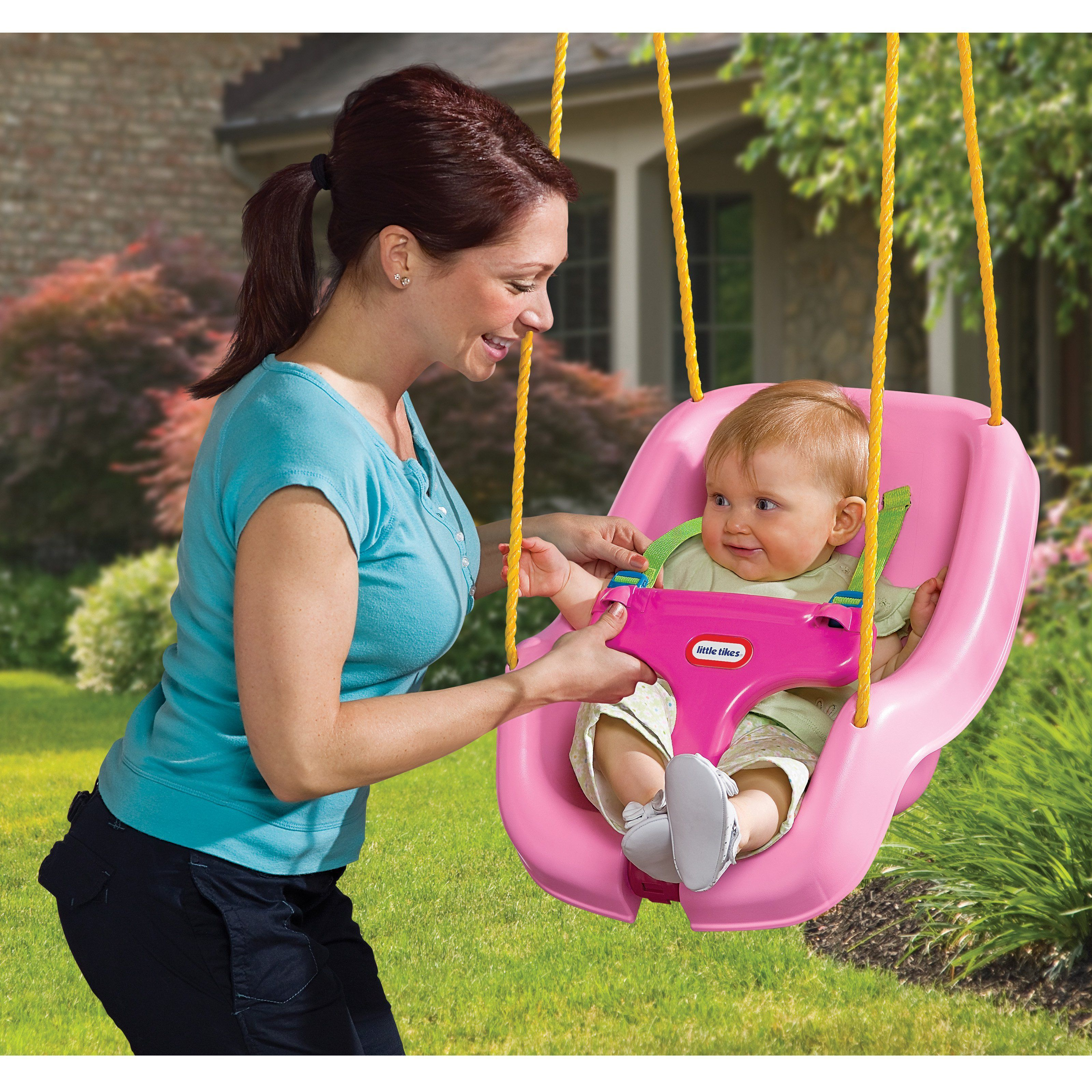 Little tikes in snug n secure swing products