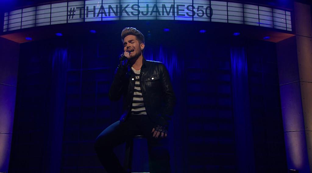 The Late Late Show with James Corden https://www.facebook.com/latelateshowcbs/posts/1219710168045676… Adam Lambert